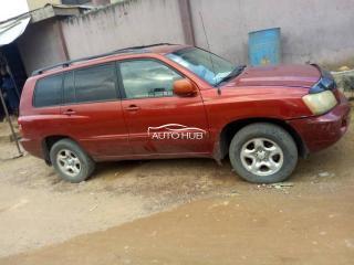 2003 Toyota Highlander Red