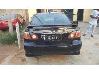 2007 Toyota Corolla Black