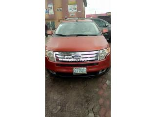 2008 Ford Edge Red
