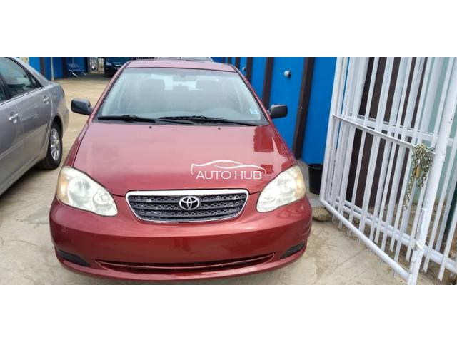 2005 Toyota Corolla Red