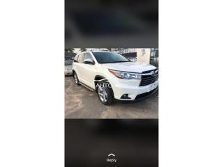 2016 Toyota Highlander White