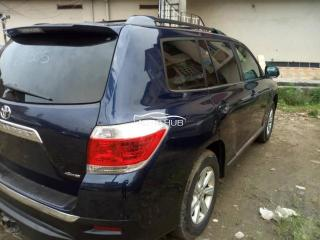 2011 Toyota Highlander Black