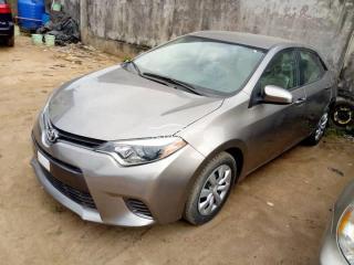 2016 Toyota Corolla Gray