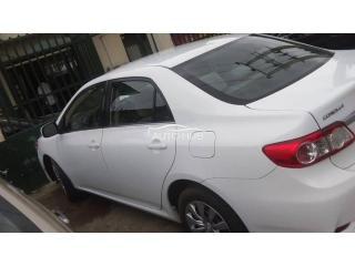 2013 Toyota Corolla White