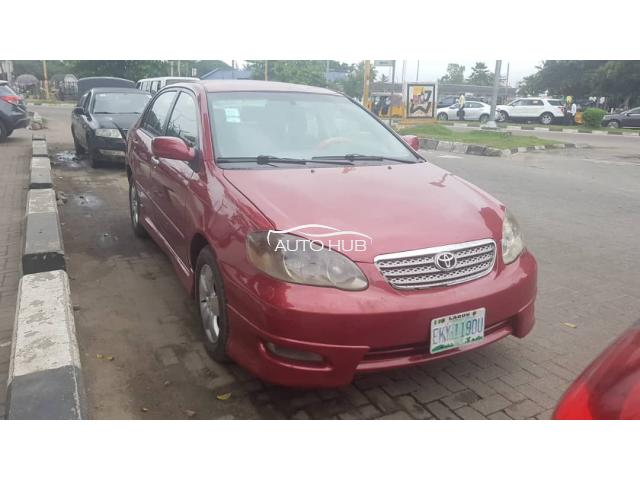 2005 Toyota Corolla Red