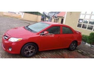 2010 Toyota Corolla Red