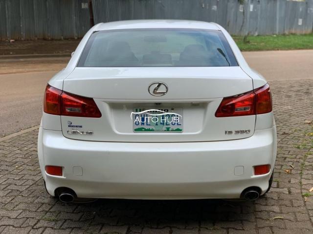 2006 Lexus IS 350 White