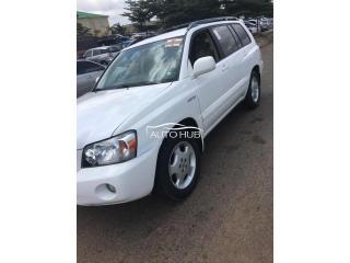 2006 Toyota Highlander White