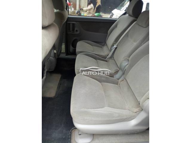 2005 Toyota Sienna Silver