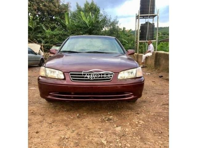 2001 Toyota Camry Red