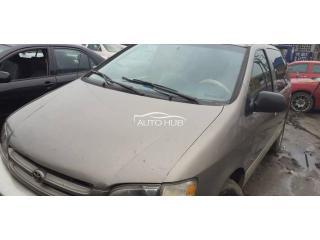 2002 Toyota Sienna Gray
