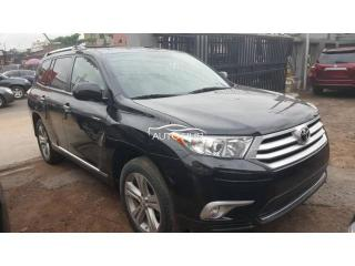 2012 Toyota Highlander Black
