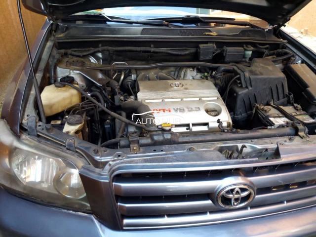 2004 Toyota Highlander Gray