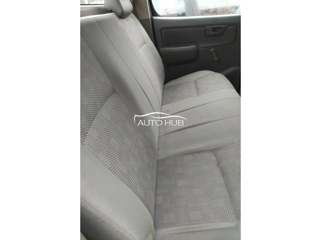 2012 Toyota Hilux White