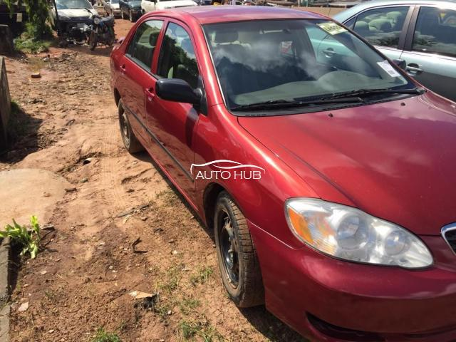 2008 Toyota Camry Red