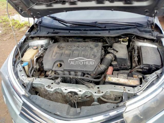 2014 Toyota Corolla Gray