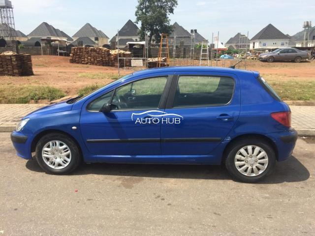 2006 Peugeot 307 Blue
