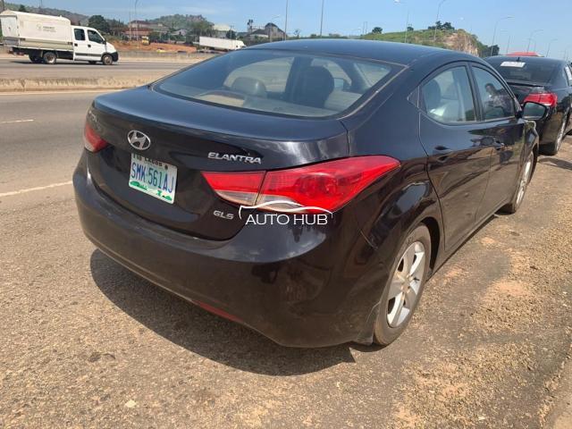 2012 Hyundai Elantra Black