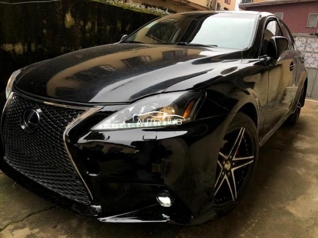 2008 Lexus IS Black