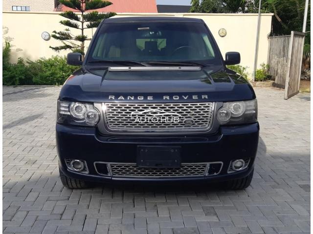 2008 Range Rover Vogue Black