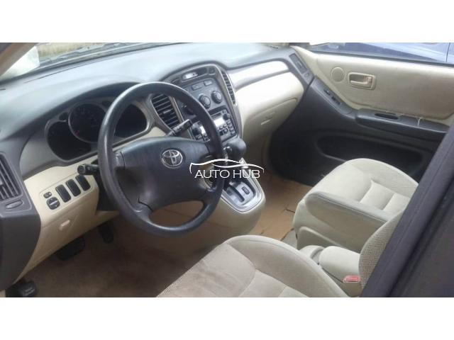 2002 Toyota Highlander Blue
