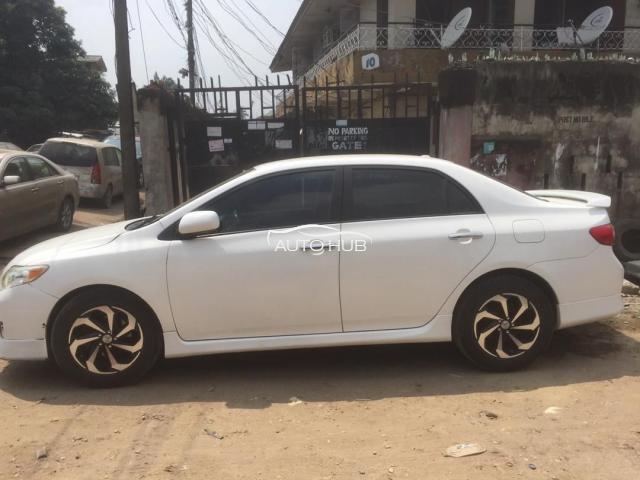 2008 Toyota Corolla White