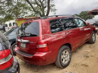 2003 Toyota Highlander Red