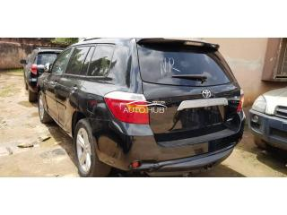 2008 Toyota Highlander Black