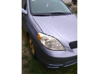 2004 Toyota Matrix purple