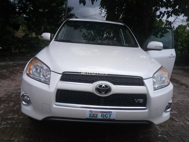 2008 Toyota Rav 4 White