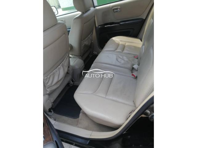 2003 Toyota Highlander Black