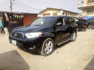 2010 Toyota Highlander Black