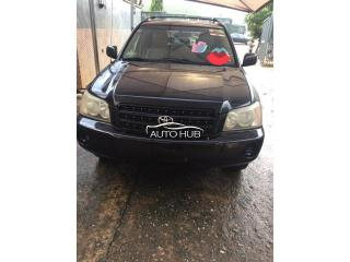 2002 Toyota Highlander Black
