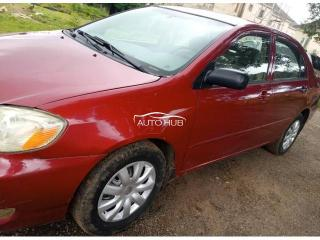 2004 Toyota Corolla Red