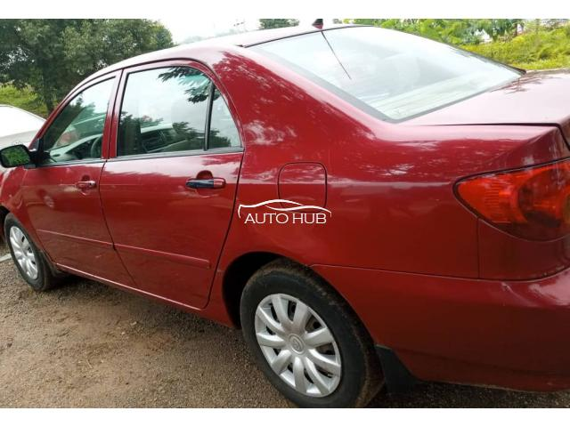2004 Toyota Corolla Red
