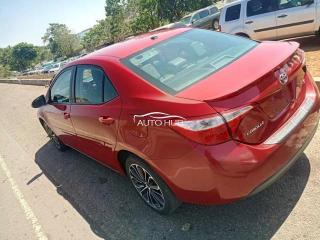 2016 Toyota Corolla Red