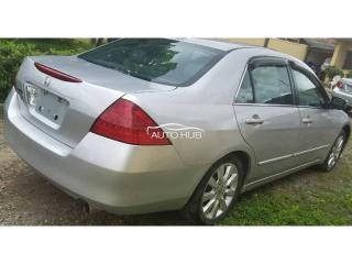 2007 Honda Accord Silver