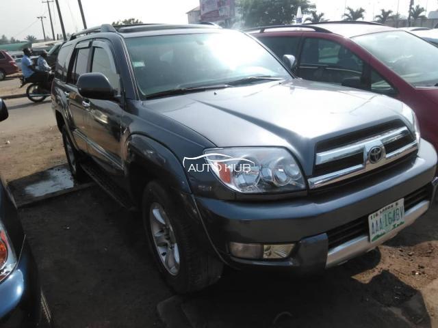 2006 Toyota 4 Runner Gray