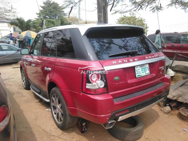 2010 Range Rover Sport Red