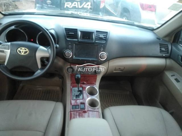 2008 Toyota Highlander Gray