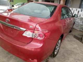 2013 Toyota Corolla Red