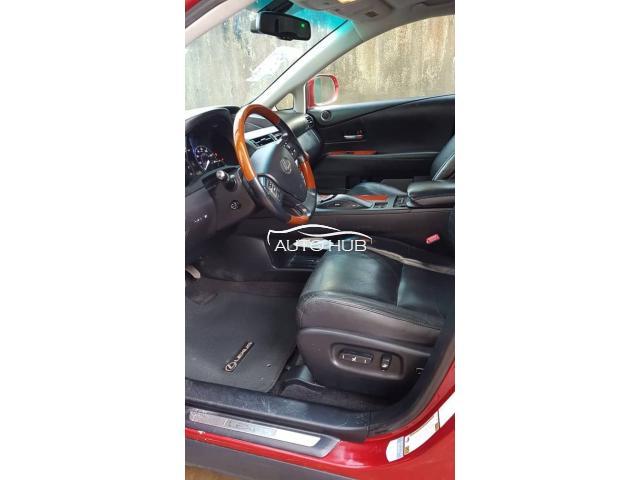 2010 Lexus RX 350 Red