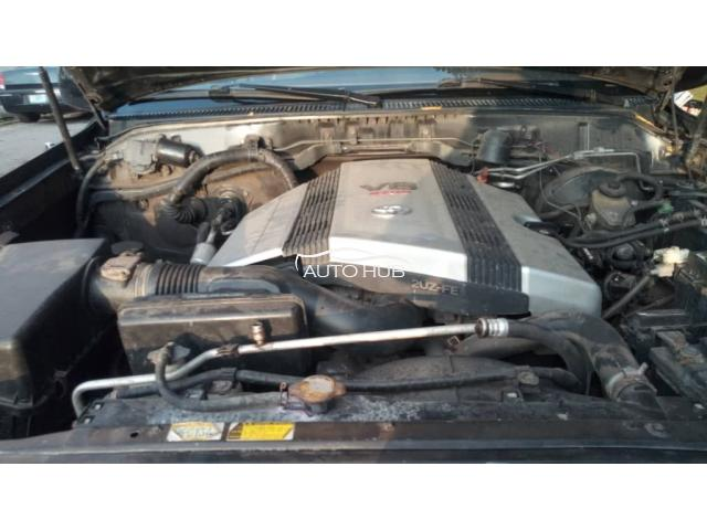 2004 Toyota Landcruiser Black