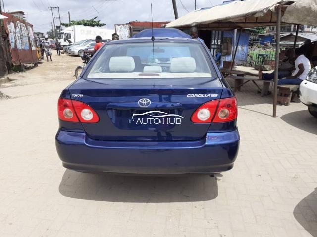 2007 Toyota Corolla Blue
