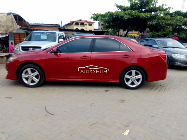 2012 Toyota Camry  Red