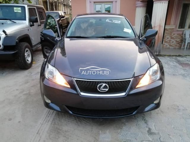 2008 Lexus IS-250 Black