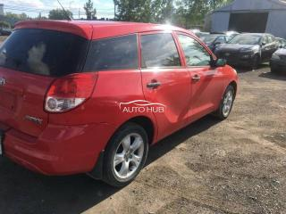 2004 Toyota Matrix Red