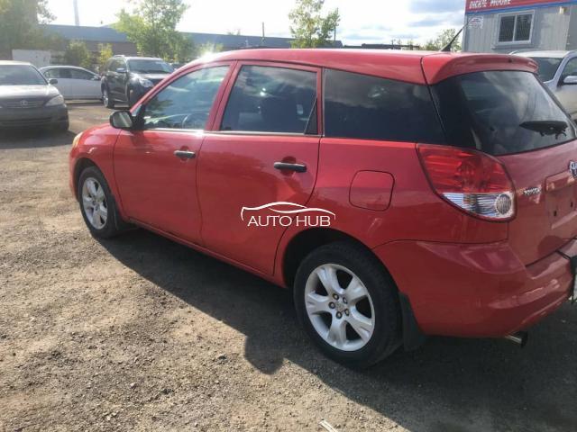 2004 Toyota Matrix Red