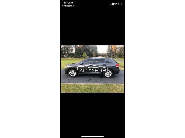 2012 Toyota Venza Black