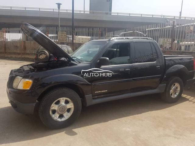 2002 Ford Explorer Black